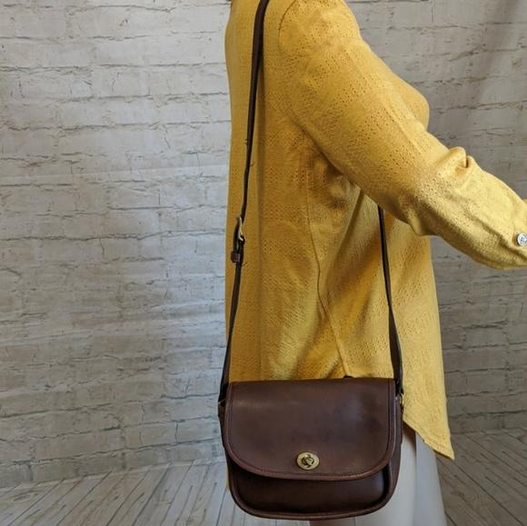Coach Leather Vintage Crossbody Jack Bag